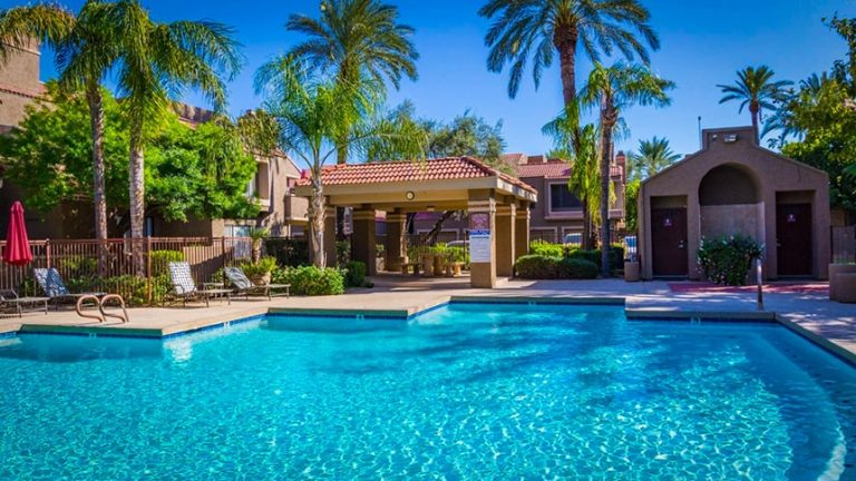 swimming pools miano terrace condo scottsdale az