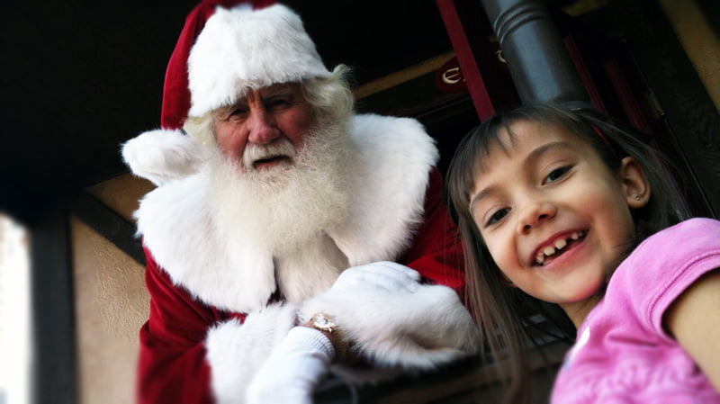 Christmas Shopping with Santa Claus in Anthem AZ