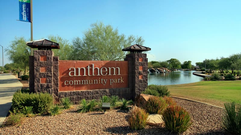 Anthem AZ Parks and Golfing