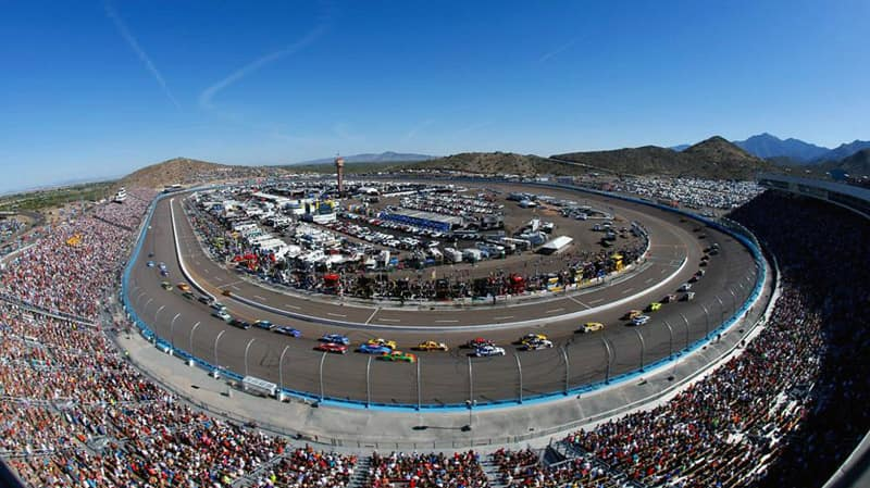 PIR Phoenix International Raceway in Avondale AZ