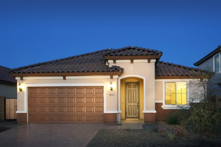 pulte homes phoenix az barletta model - elevation 1