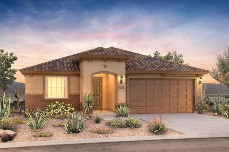 pulte homes phoenix az barletta model - elevation 3