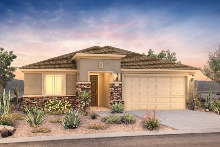 pulte homes phoenix az barletta model - elevation 4