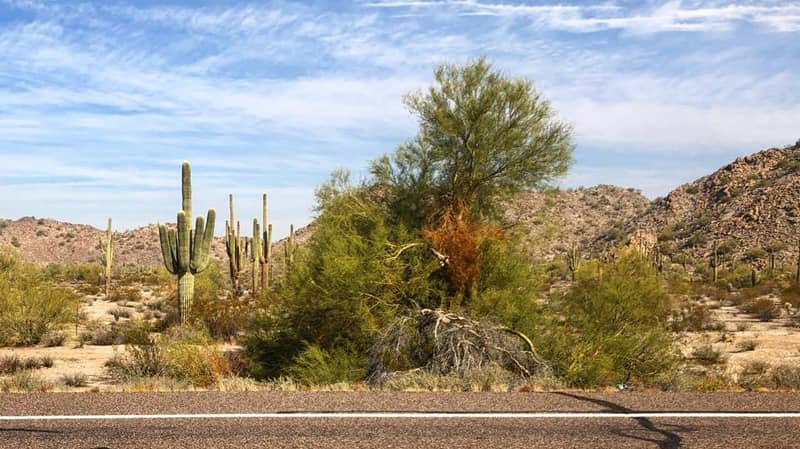 Buckeye AZ Rural Desert Highways