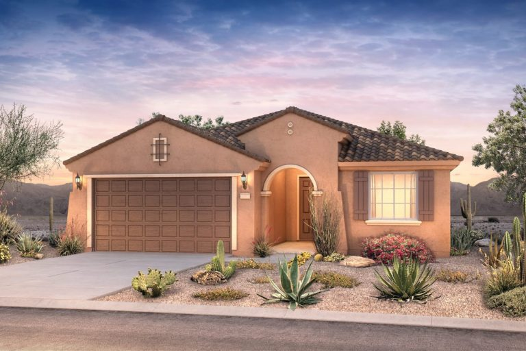 Pyramid Peak Pulte Cosenza - elevation 1