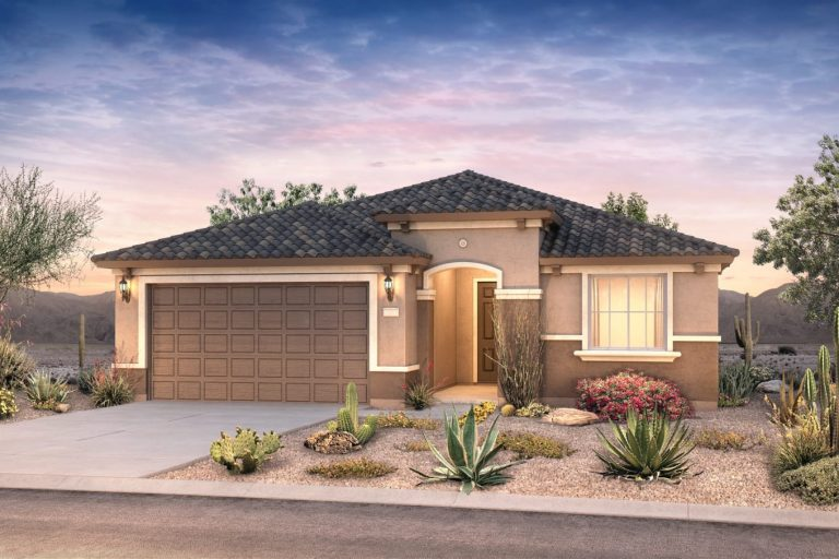 Pyramid Peak Pulte Cosenza -elevation 2