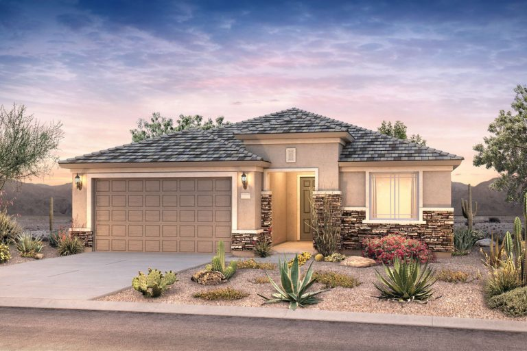 Pyramid Peak Pulte Cosenza - elevation 3