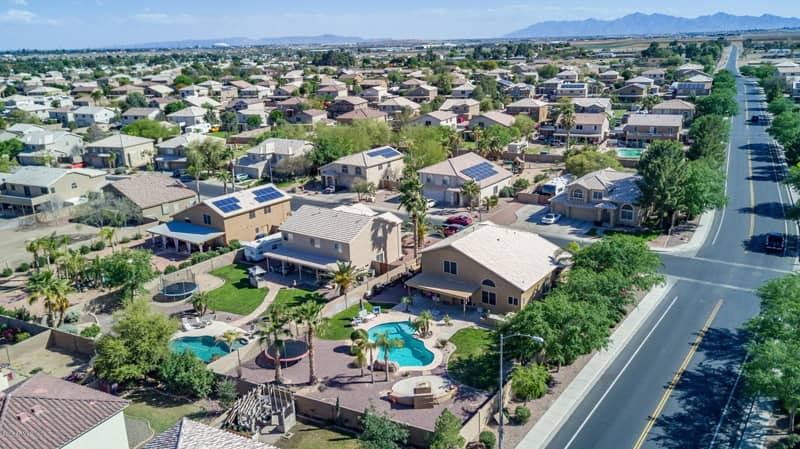 affordable homes for sale with pools in el mirage az