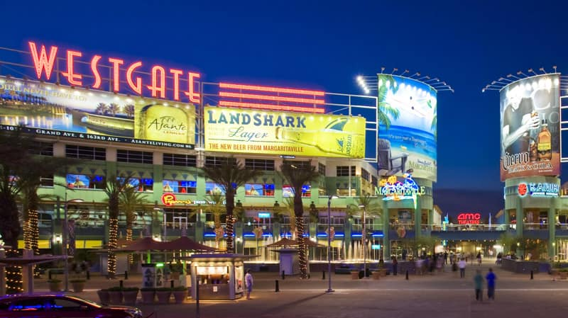 westgate entertainment center in glendale az shopping events bars theaters condos