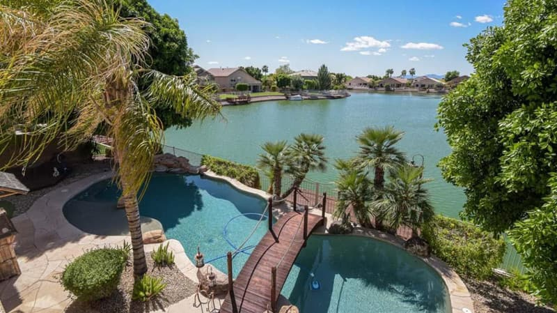arrowhead lakes in glendale az golf fishing ducks parks gated private