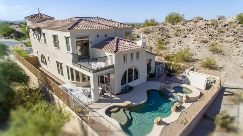 goodyear az estrella mountain luxury homes with pools