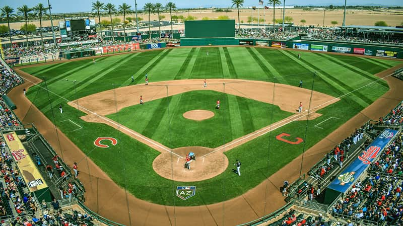 goodyear az major league baseball spring training field
