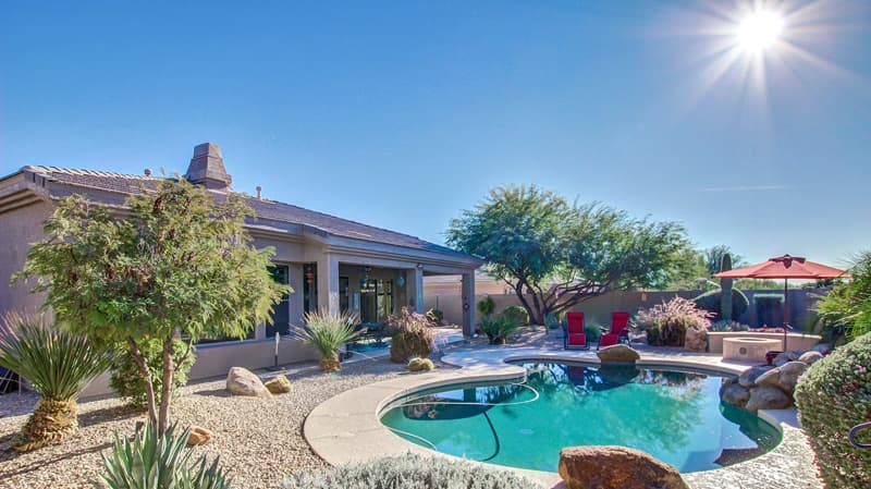 goodyear az escape from the heat in your very own pool