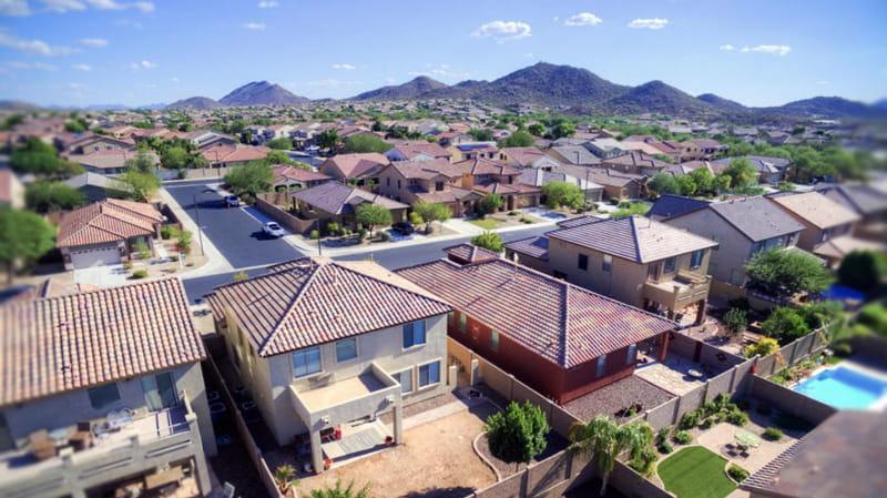 Homes for Sale in Peoria AZ with Desert Mountain Views