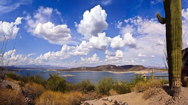 phoenix az beautiful lake pleasant in Northwest phoenix arizona