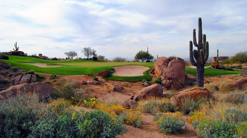 phoenix az has some of the most amazing golf courses in the world
