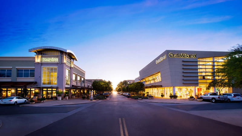 phoenix az kireland offers first class shopping, apple store, dining, entertainment