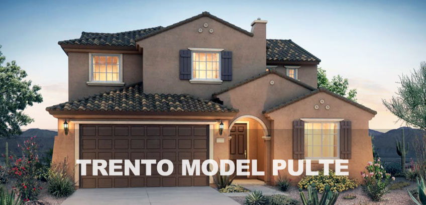 Phoenix AZ New Homes Pyramid Peak Pulte Trento