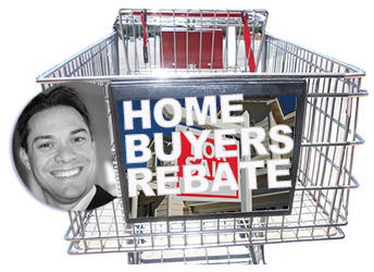 home buyer rebate money back special promotion buy a house
