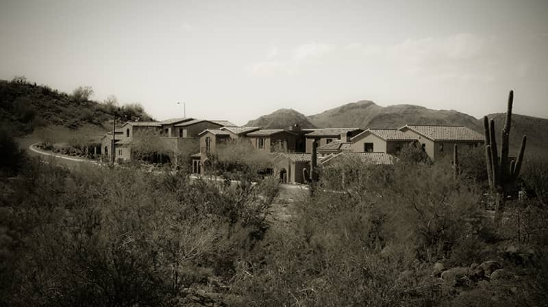 sonoran mountain gated community luxury homes