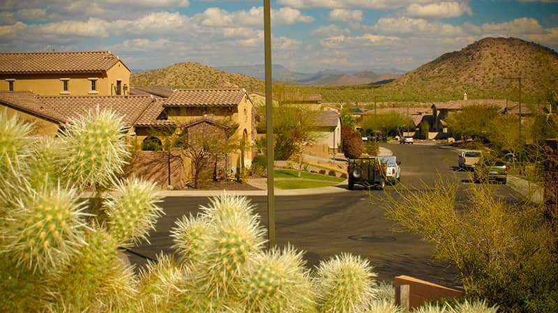 sonoran mountain neighborhood mountain views