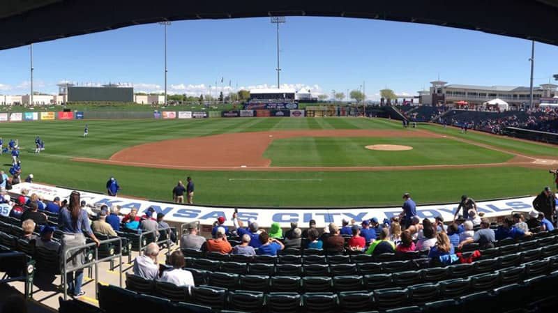 surprise az baseball and sports complex at Surprise Stadium