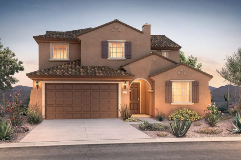 Pyramid Peak Pulte Trento - elevation 1