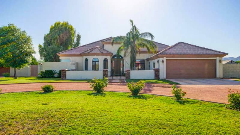 waddell az custom home building find your next single level home with a pool in waddell arizona