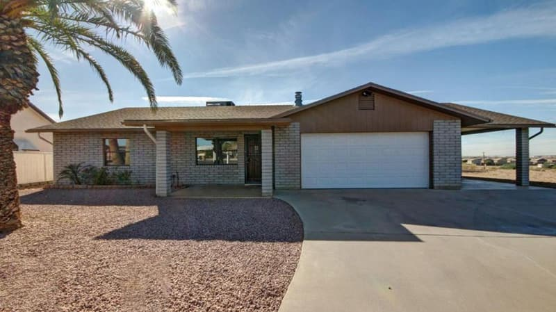 youngtown az block homes single level older homes in youngtown arizona
